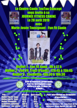 Cours FUN FIT canin